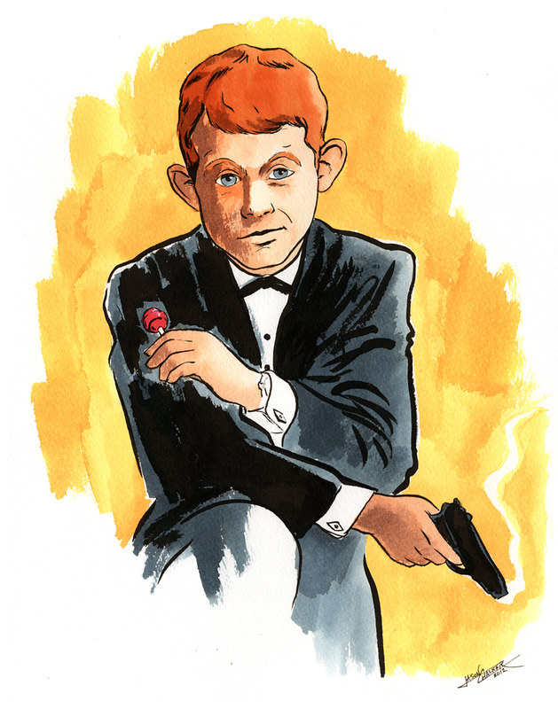 Adolescent James Bond