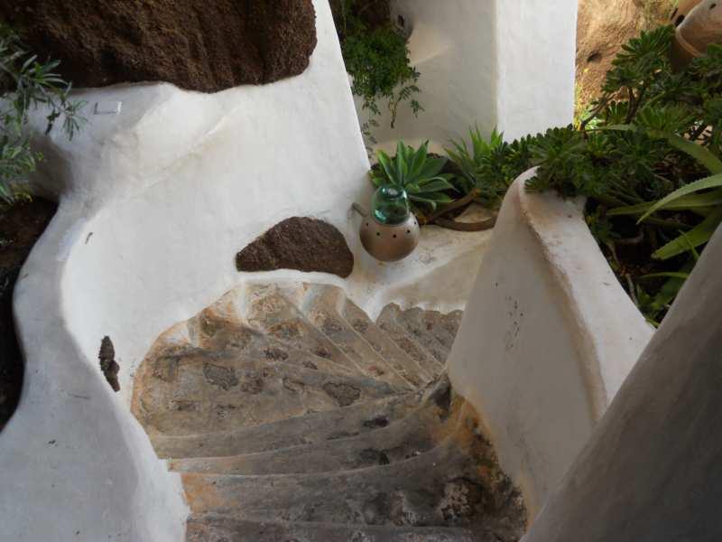 jardineras en escalera