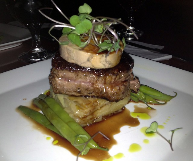 Beef Tenderloin with Foie Gras Terrine