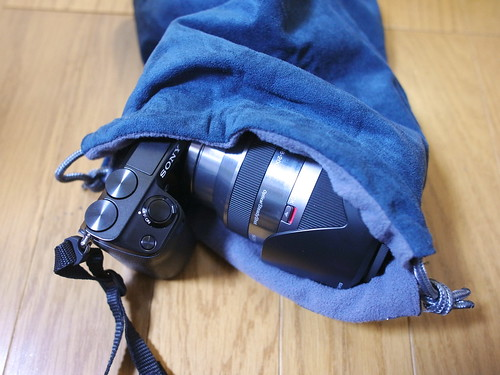 NEX7用カメラケース・ポーチ・バッグレビュー