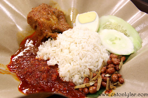 Nasi Lemak, Jusco Mid Valley