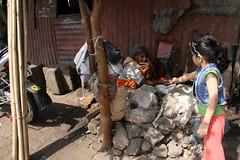 The Umbrella Lady of Bandra Reclamation and Marziya Shakir by firoze shakir photographerno1