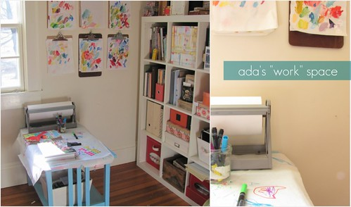 "ada's ""work"" space"