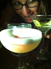 Photobombed cocktail