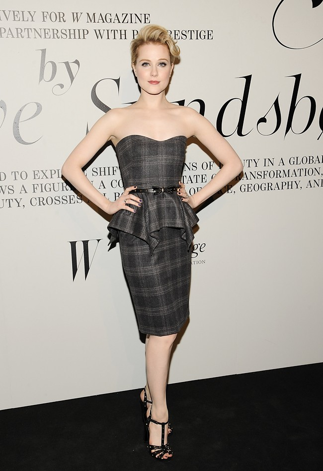 7 - Evan Rachel Wood gucci prefall2012