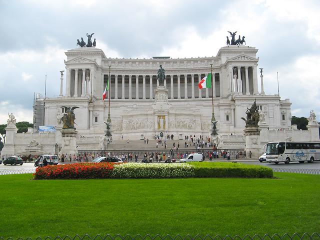 Il Vittoriano e l'altare della patria