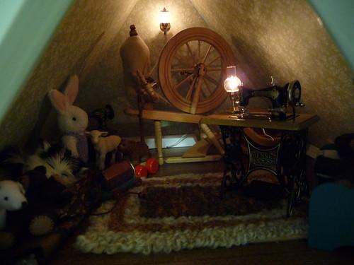 Hitty Beatrix's attic