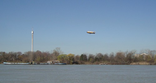 Goodyear Blimp Over Boblo