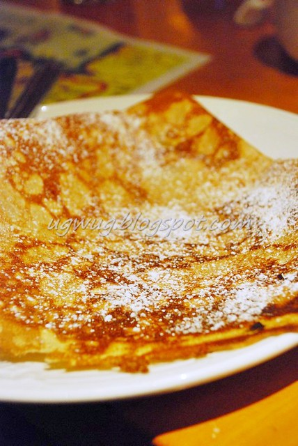 Simple Sugar Crepe (Sucre)