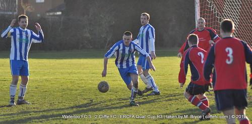 Cliffe FC 2 - 3 Waterloo FC 18Feb12