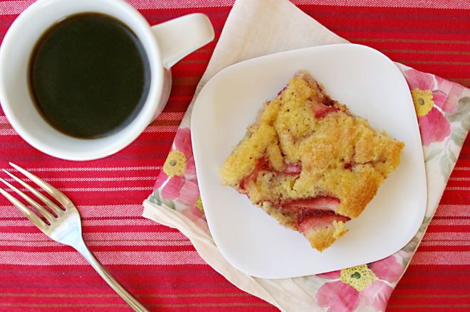 strawberry buttermilk cake 7