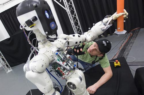 The BERT2 robot at the Bristol Robotics Laboratory
