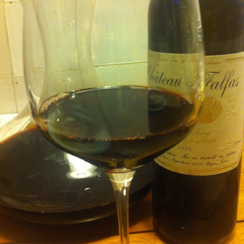 1996 Château Falfas @ Le Gourmand, Private Home Fine Dining