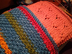 Two more dishcloths
