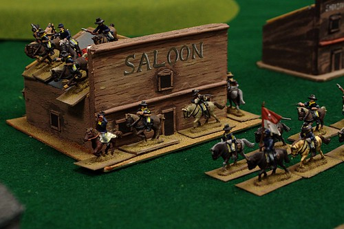 """Defending"" the saloon"
