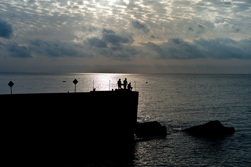 Early morning fishing, Funchal