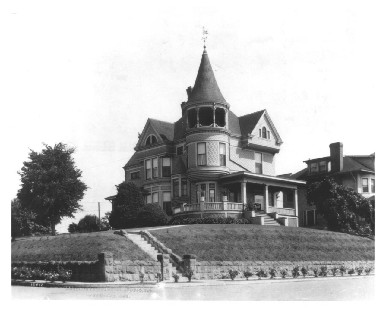 Johan Poulsen House Oregon State Historic Preservation