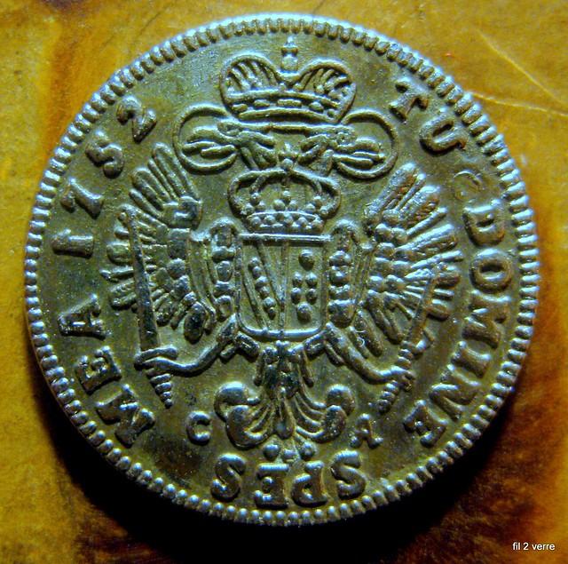 Pi Ce De Monnaie Ancienne 1752 Flickr Photo Sharing