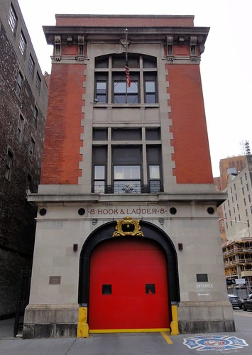 Hook and Ladder 8 New York City - Ghostbusters Firehouse