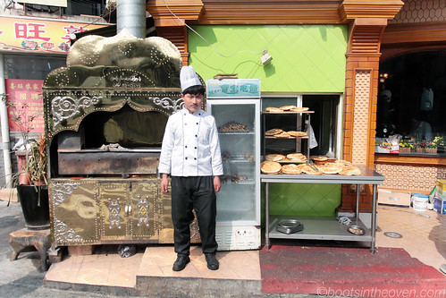 Man with Oven