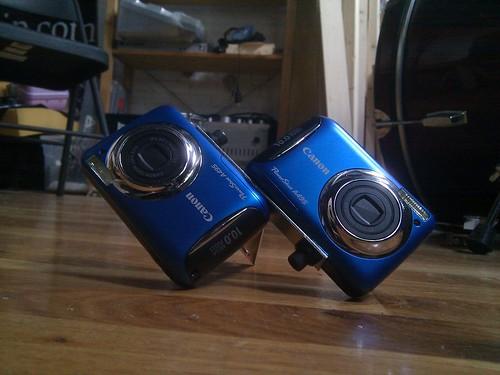 Dual camera rig variation