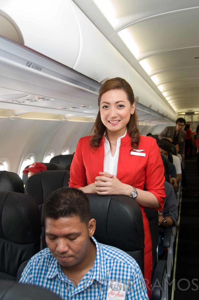 AirAsia Philippines Official Kick Off - Katherine Smile