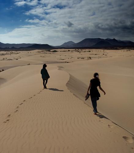 spain sand dunes fuerteventura canaries