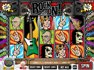 Rock On Free Spins