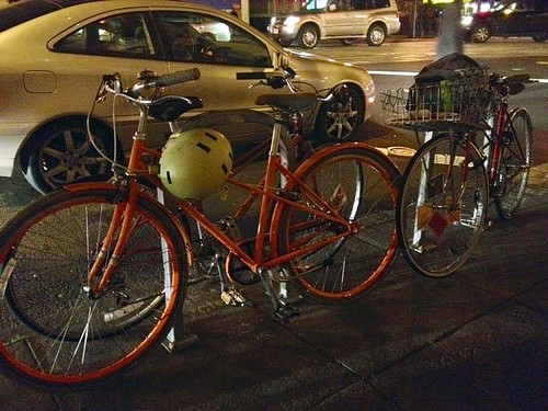 Mixte parking only.