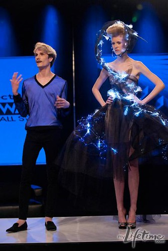 Austin and his model