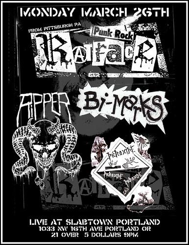 3/26/12 Ratface/Ripper/BiMarks/Peroxide