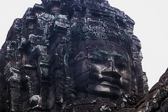 Bayon Temple - Face (Detail)