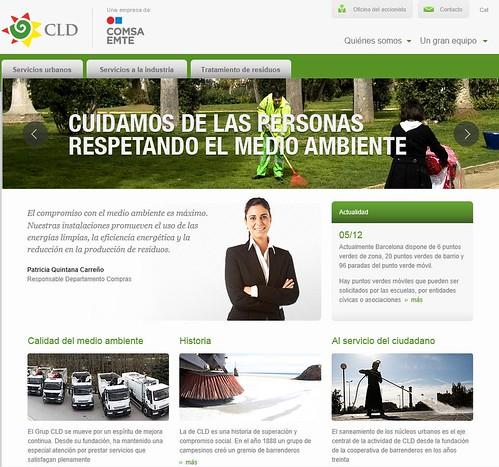 Nueva web de CLD