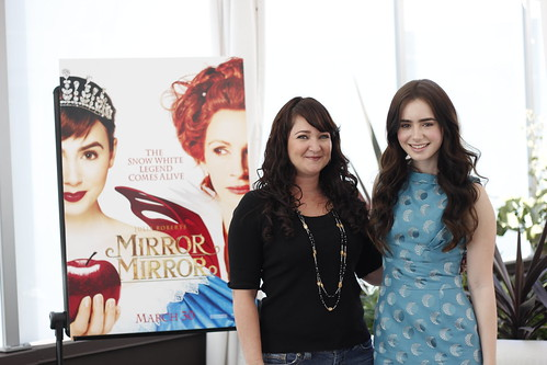 Meeting Mirror Mirror's Lily Collins