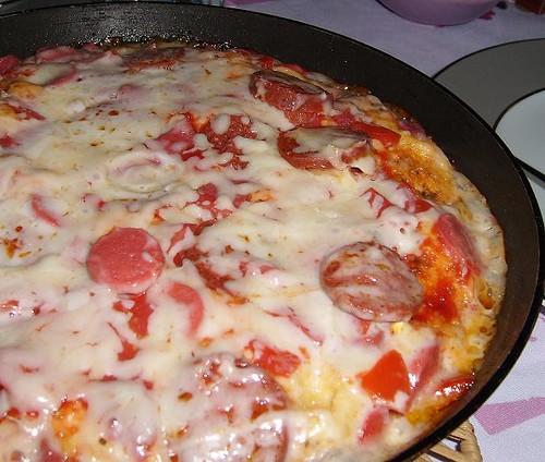 teflon tava pizzası