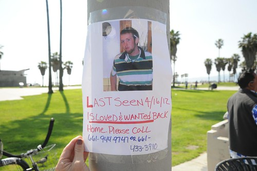 Missing Person Venice Beach