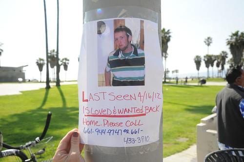 Missing Person Venice Beach