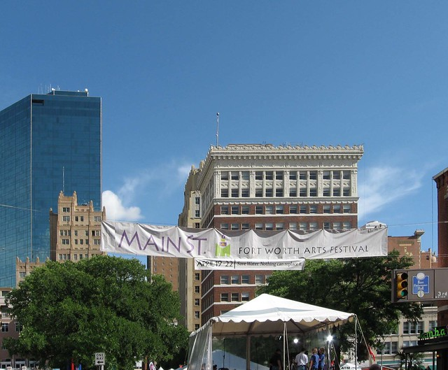 Main Street Fort Worth Arts Festival