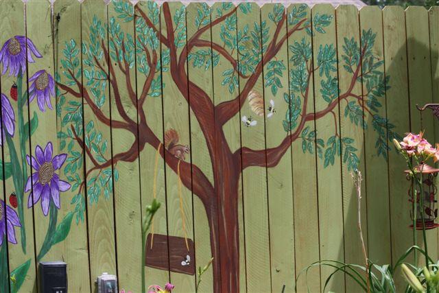 Karen garrett art flickr photo sharing for Cypress gardens mural