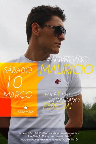 Flyer - Aniversário by chambe.com.br