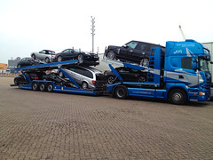 One of our two new Open Car Transport Vehicles