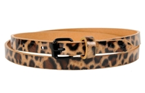 women´s leopard print belt