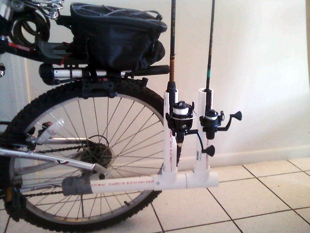 bike fishing rod holder flickr photo sharing