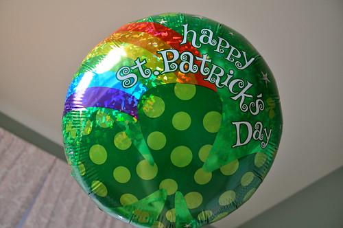 st patrick's day balloon