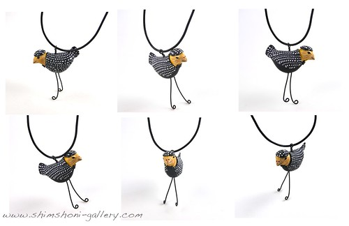 Black Bird Pendant