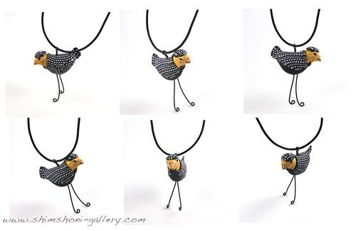 Black Bird Pendant