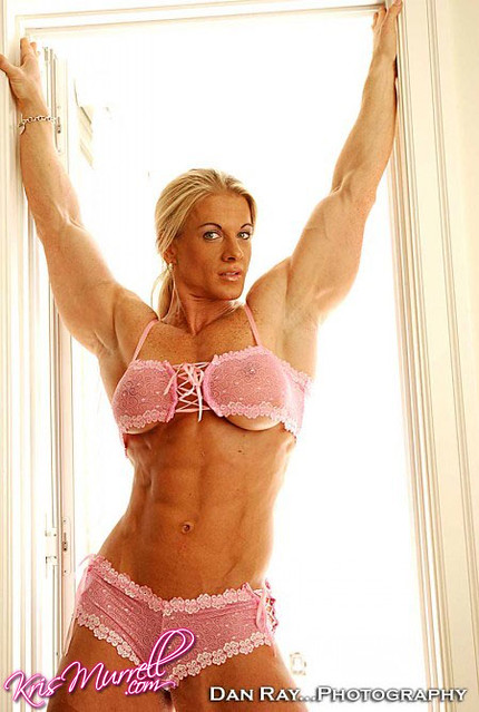 Kris Murrell Bodybuilder http://www.flickr.com/photos/ilovefemalemuscle/6991432845/