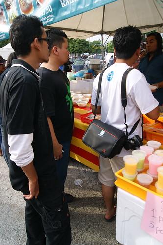 Blogger di Fiesta Belon Udara Panas Putrajaya 2012