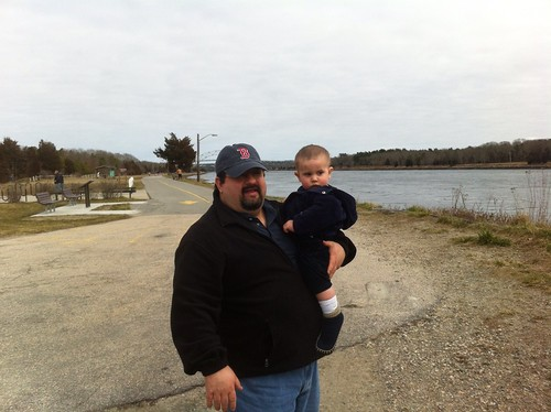 Dom and Anthony, Cape Cod canal