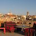 Sidon – výhled z terasy Khan al-Franj, foto: Milena Šumanová